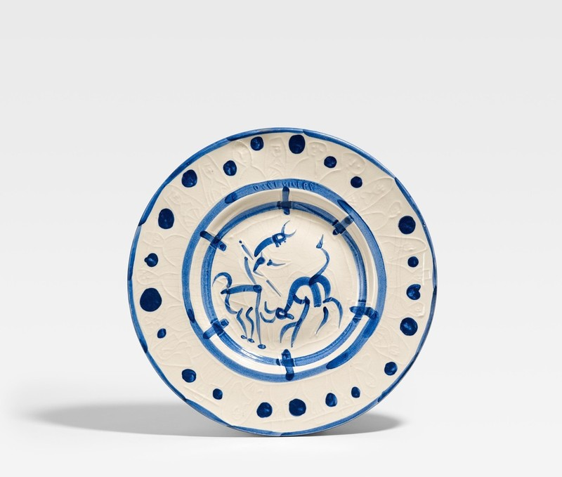 Pablo PICASSO - Ceramic - The pike