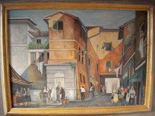 Enzo LENZI - Pintura - Orbetello