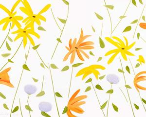 Alex KATZ - Druckgrafik-Multiple - Flowers 2