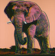 Andy WARHOL (1928-1987) - African Elephant