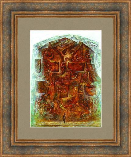 Amur KOCHISHVILI - Peinture - Artist & the City