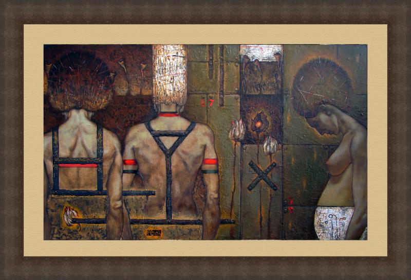 Maxim ORLITSKIY - 绘画 - Adultery