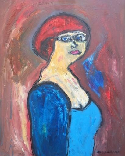 Christian DURIAUD - Pintura - Femme rousse
