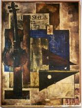 Paul CHARLEMAGNE (1892-1972) - Composition au violon