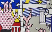 Roy LICHTENSTEIN (1923-1997) - Inaugural Print, from: Inaugural Impressions
