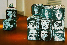 Claude THIEL DE NEUVILLE - 162 mythical portraits: Cubes