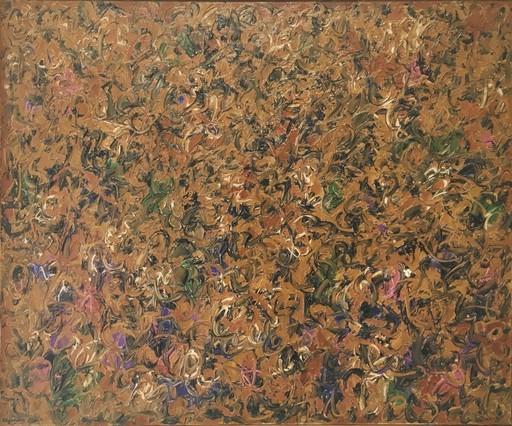 John CLUYSENAAR - Pintura - Abstraction lyrique (ca.1965)