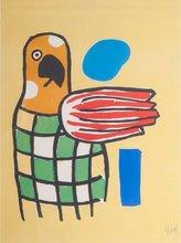 Fernand LÉGER (1881-1955) - Le perroquet