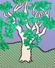 Roy LICHTENSTEIN - Stampa-Multiplo - Rain Forest
