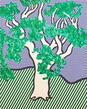 Roy LICHTENSTEIN - Estampe-Multiple - Rain Forest