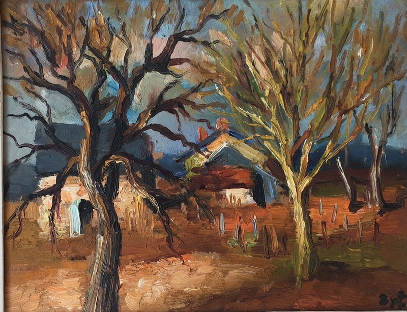 Marcel DYF - 绘画 - paysage d'hiver