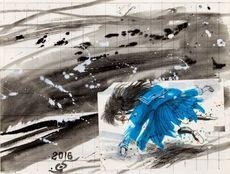 Hiroshi NAKAMURA - Painting - Girls in mayhem, No.6