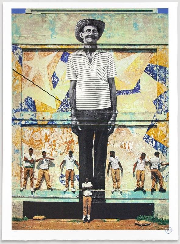 JR - Estampe-Multiple - The Wrinkles of The City, La Havana, Antonio Cruz Gordillo