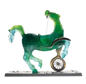 Salvador DALI - Escultura - Debris of an Automobile Giving Birth to a Blind Horse