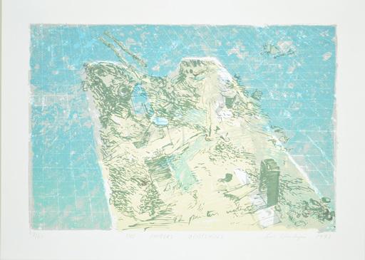 Luc DONDEYNE - Stampa-Multiplo - The Painters U(n)tensils