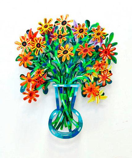 David GERSTEIN - Sculpture-Volume - Monaco Bouquet
