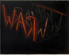 Bruce NAUMAN - Radierung Multiple - Raw War