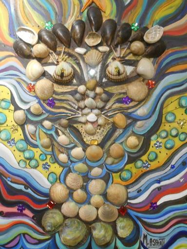 Mireille ASPERTI - Painting - CHATASMAGORIE