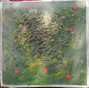 Vladimir OSSIF - Painting - Untitled II