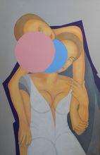 Christian SATIN - Peinture - No Title    (Cat N° 5533)