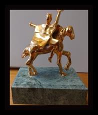 Salvador DALI - Sculpture-Volume - Trajan on Horseback Sculpture