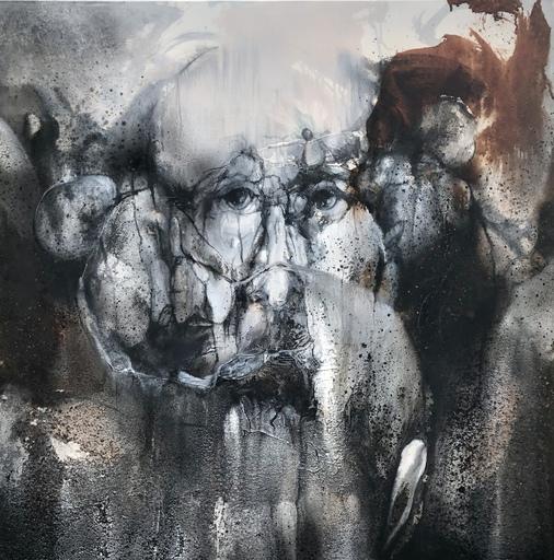 Joëlle ROUSSELET - Painting - Paysage d'äme P130