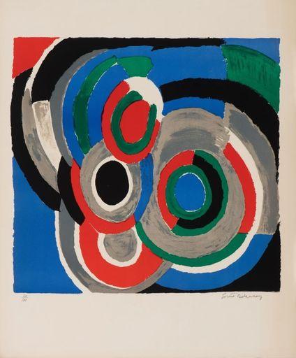 Sonia DELAUNAY - Print-Multiple - Hommage à Stravinsky