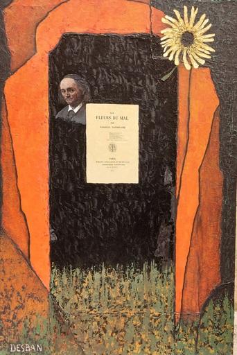 Marcel Charles DESBAN - 绘画 - Charles Baudelaire