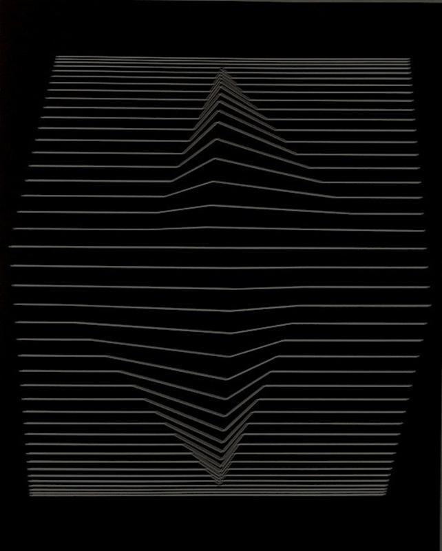 Victor VASARELY - Estampe-Multiple - ilile-II