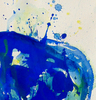 Sam FRANCIS - Gemälde - Untitled SF86-877 (Blue Acrylic)