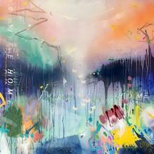 Bea GARDING SCHUBERT - Pittura - wish you were home III