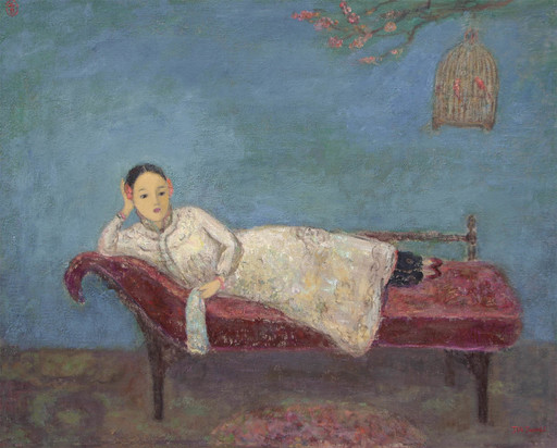 JIA Juanli - Pintura - Melle Weng Xing