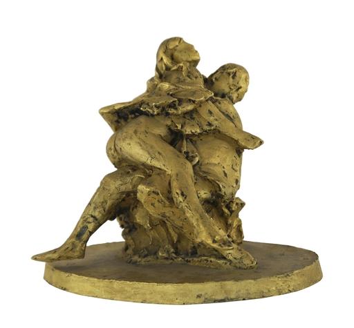 Giacomo MANZU - Sculpture-Volume - Gli amanti