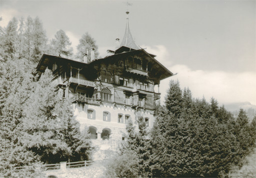 Albert STEINER - Fotografie - Haus im St. Moritz