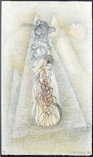 Fred DEUX - Drawing-Watercolor - Les voyants