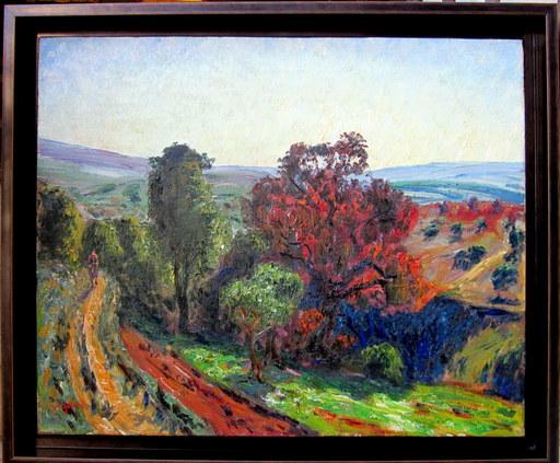 René SEYSSAUD - Pittura - Automne en Provence