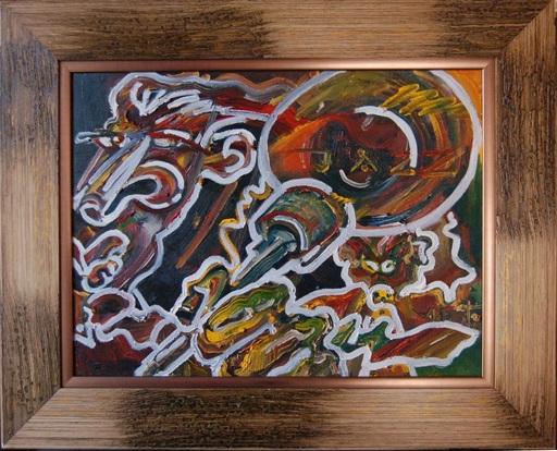 Anthony NEWTON - Painting - Jazz