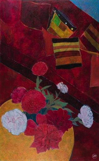 Marie-Pierre AUTONNE - Painting - Les pivoines