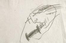 Antoni TAPIES (1923-2012) - Projecte núm. 3