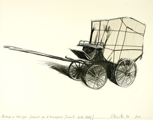 CHRISTO - Estampe-Multiple - Package on Carrozza