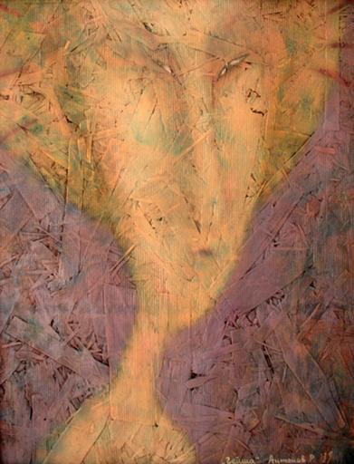 Roman ANTONOV - Painting - Geisha # 2