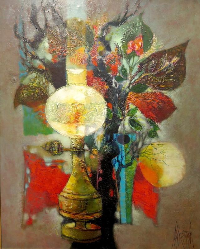 René MARGOTTON - Painting - Lumière du doux passé