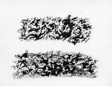 Henri MICHAUX - Dessin-Aquarelle - sans titre