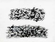 Henri MICHAUX - Dibujo Acuarela - sans titre