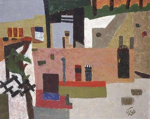 Ephraim LIFSHITZ - Pittura - Urban Landscape