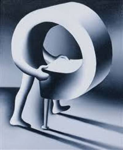 Mark KOSTABI - Painting - PLAY YOURSELF