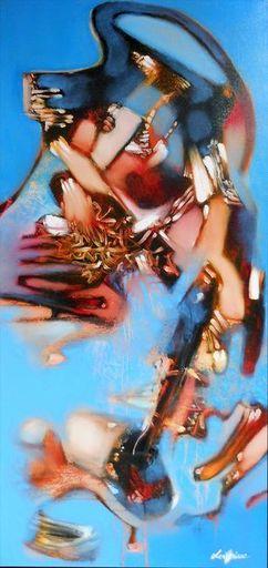 Lou FLORIAN - Painting - Indiavina