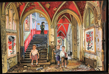 GULLY - Painting - Children meet Warhol
