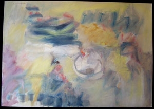 Pierre HUMBERT - Painting - Composition