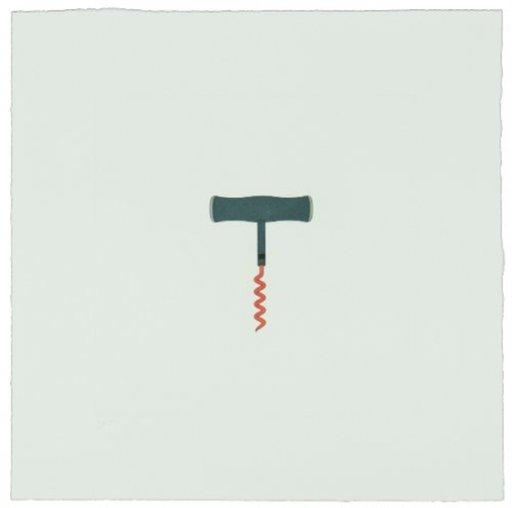 Michael CRAIG-MARTIN - Print-Multiple - The Catalan Suite II - Corkscrew